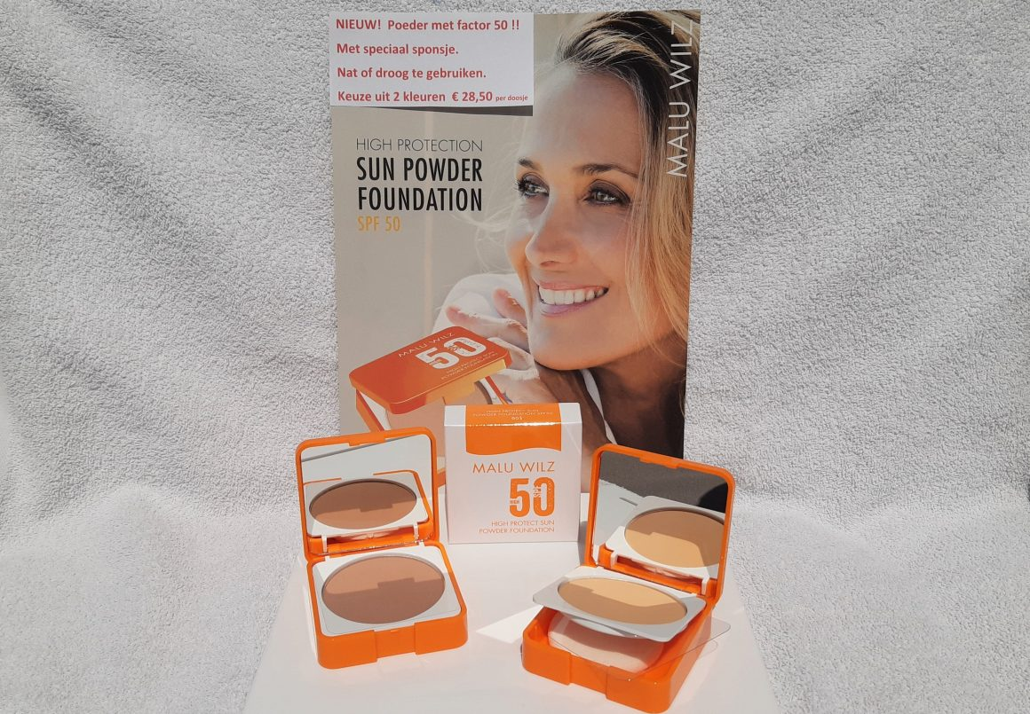 NIEUW: Sun Powder Foundation met factor