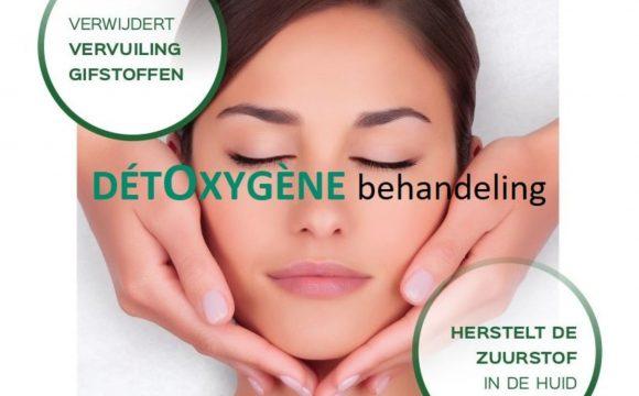 NIEUW: Detox gezichtsbehandeling – ACTIE